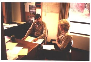 Ken Stuart and Ruth Shearer, around the time of the founding of the Seattle Biomedical Institute.