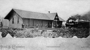 Gilman's Depot, circa 1892
