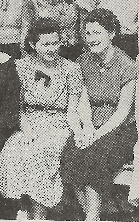 Hazel Bhirco and Dorothy Beale