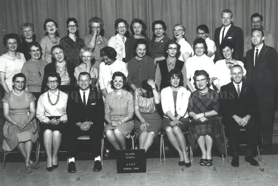 Clark Elementary Staff 1966
