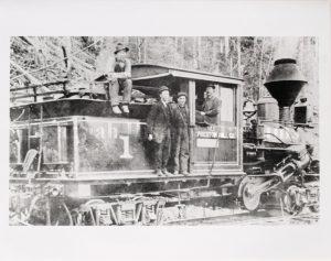 Preston, Climax Logging Engine, Preston Mill Co.