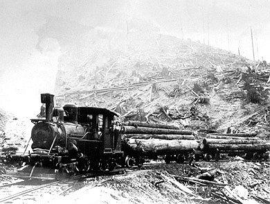 High Point Mill Locomotive
