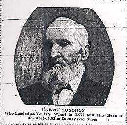 Martin Monohon circa 1900