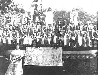Women's Christian Temperance Union Float
