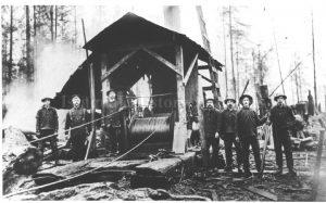Preston Steam Donkey and Crew