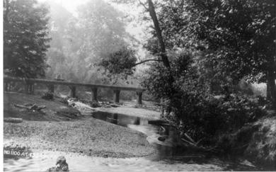 Railroad Bridge to Coal Mines on Mine Hill