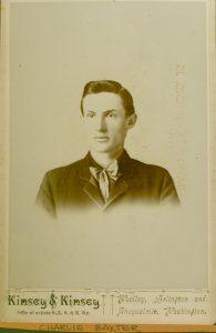 Charlie Baxter, circa 1895