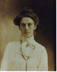 Bertha Baxter, circa 1905.