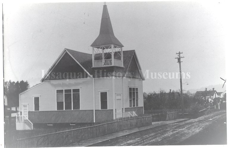 Issaquah's Baptist Church in 1911.