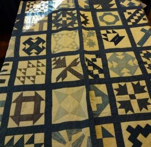 Willa Stevenson Eastlick's wedding quilt, created in 1904.