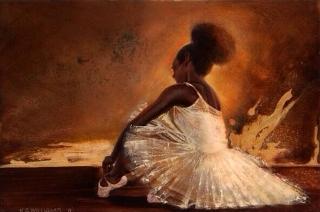 Dancer, Ballerina Noir - LE