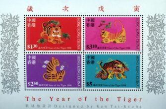 Worldwide Tiger Postage Stamps