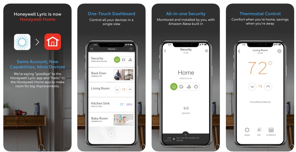 Honeywell Home Automation Apps