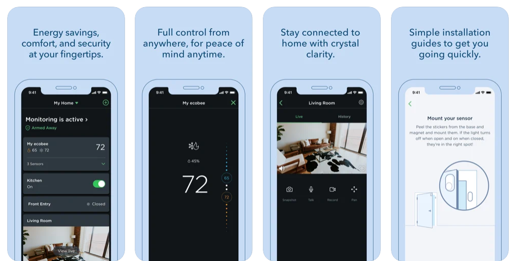 Ecobee Automation Apps