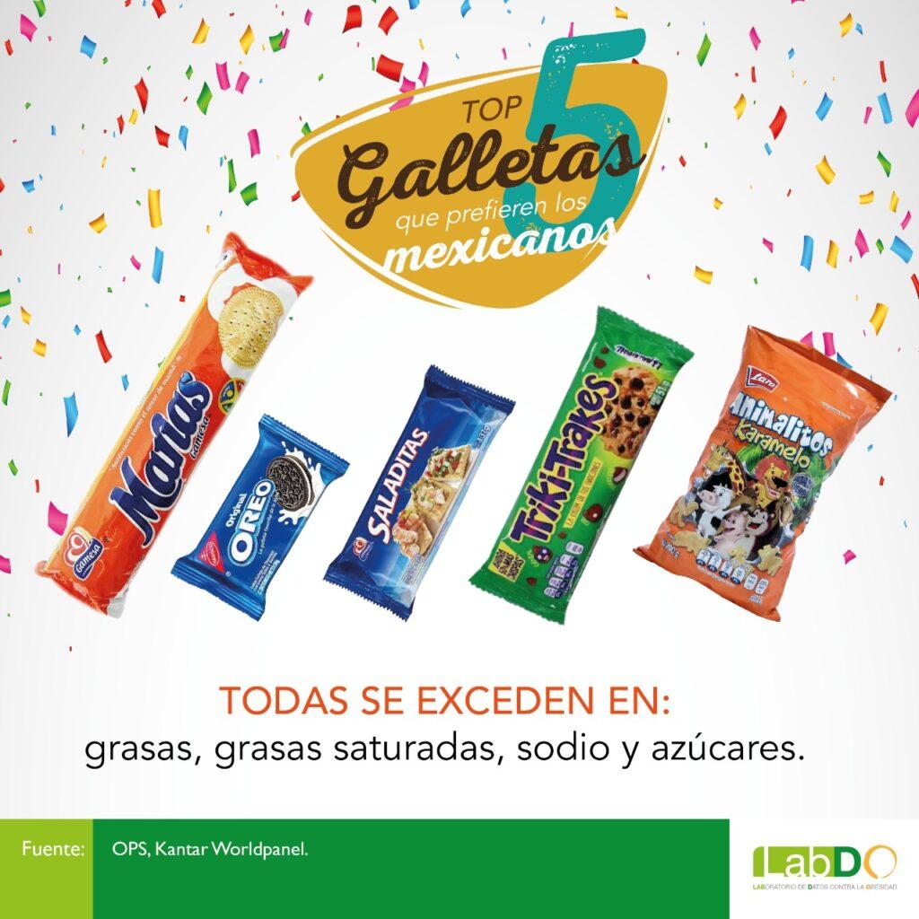 Galletas méxico top 5