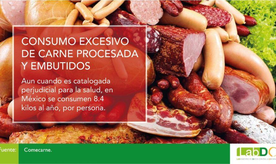 Embutidos y carnes procesadas entre favoritos de los mexicanos