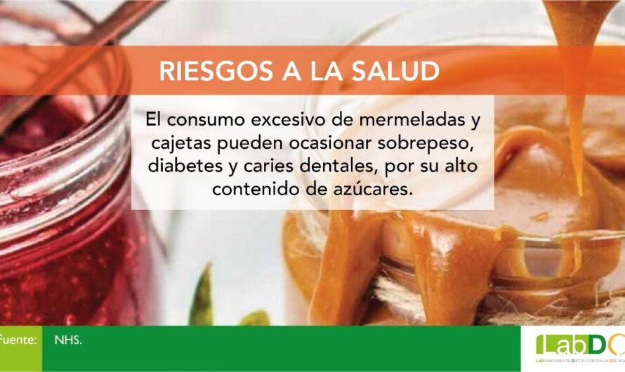 Mermeladas, crema de maní o de chocolate, untables que contribuyen a la obesidad en México