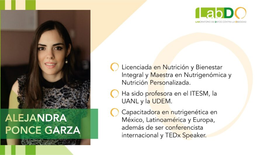 Confuso el nuevo etiquetado frontal para alimentos: Alejandra Ponce Garza