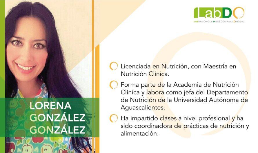 Menores de edad, los más vulnerables frente a obesidad y sobrepeso: Lorena González González