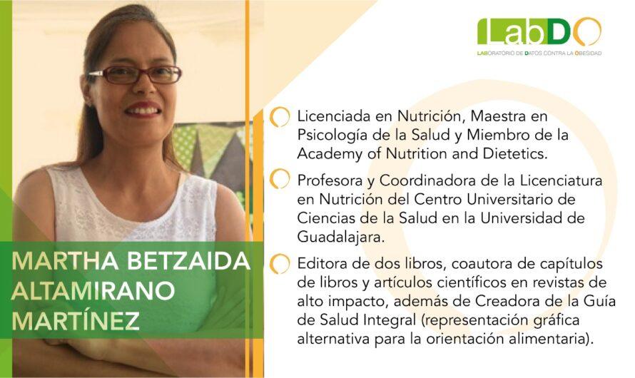 Nuevo etiquetado frontal, un avance, no la solución: Martha Betzaida Altamirano, Nutrióloga