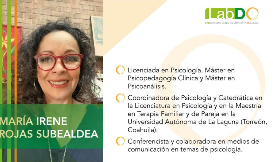 Estrés, depresión y ansiedad alteran alimentación durante confinamiento: María Irene Rojas Subealdea