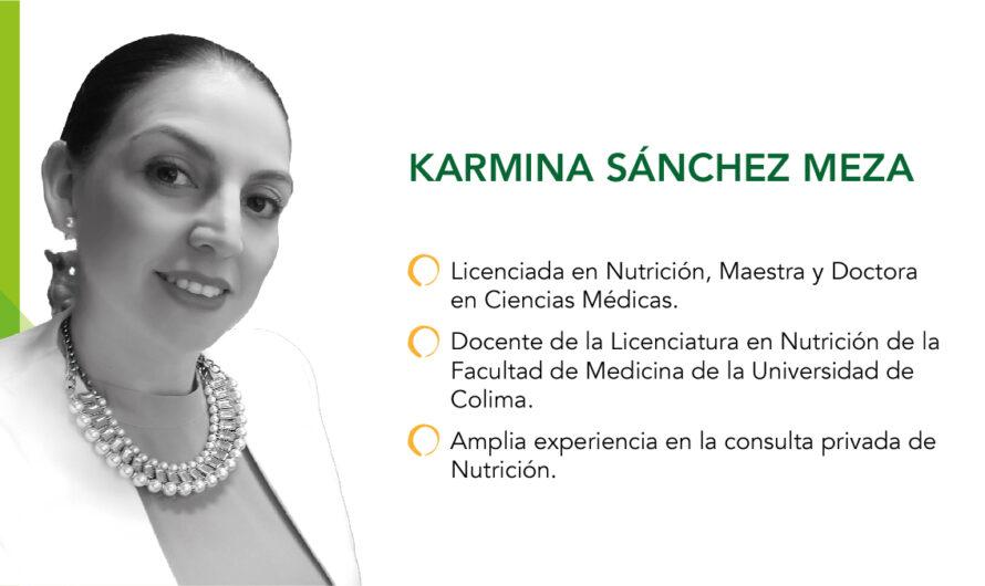 La educación nutricional, una gran herencia: Karmina Sánchez Meza