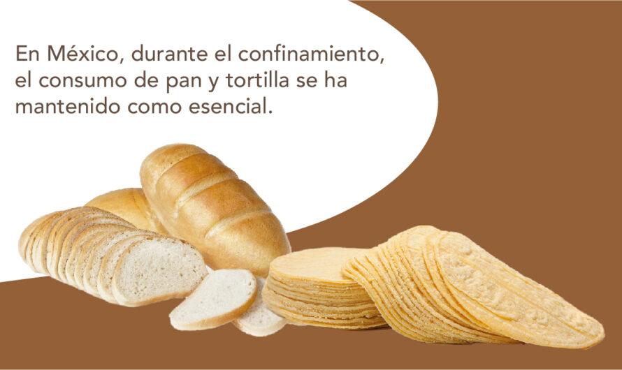 El consumo de pan en México aumentó durante confinamiento