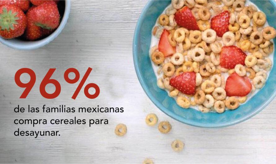 En México 96% de las familias consume cereales