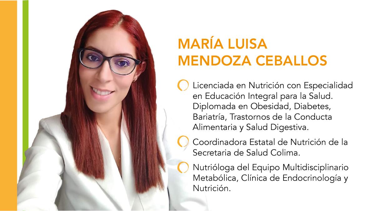 Embarazo, etapa clave para contrarrestar obesidad: María Luisa Mendoza Ceballos