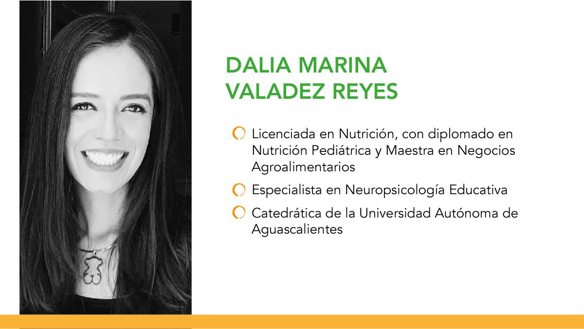 Dieta equilibrada, una aliada en la prevención de enfermedades: Dalia Marina Valadez Reyes, experta en nutrición