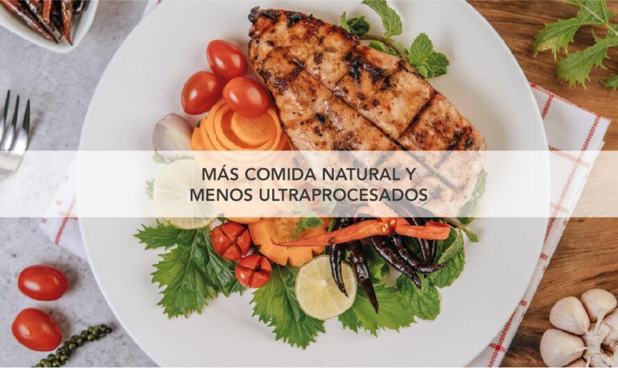 Consumir más comida natural y menos productos ultraprocesados, clave en la prevención de enfermedades