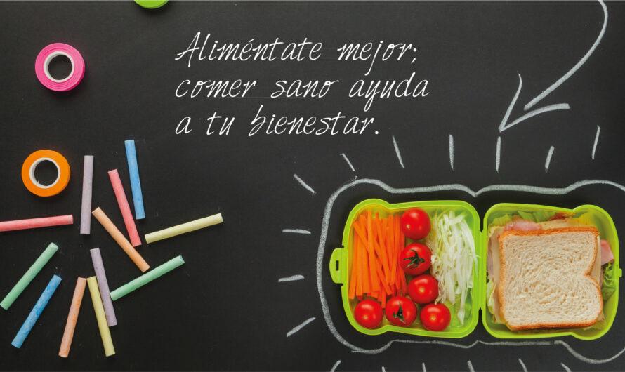 Regreso a clases: mejor información alimentaria y más actividad física