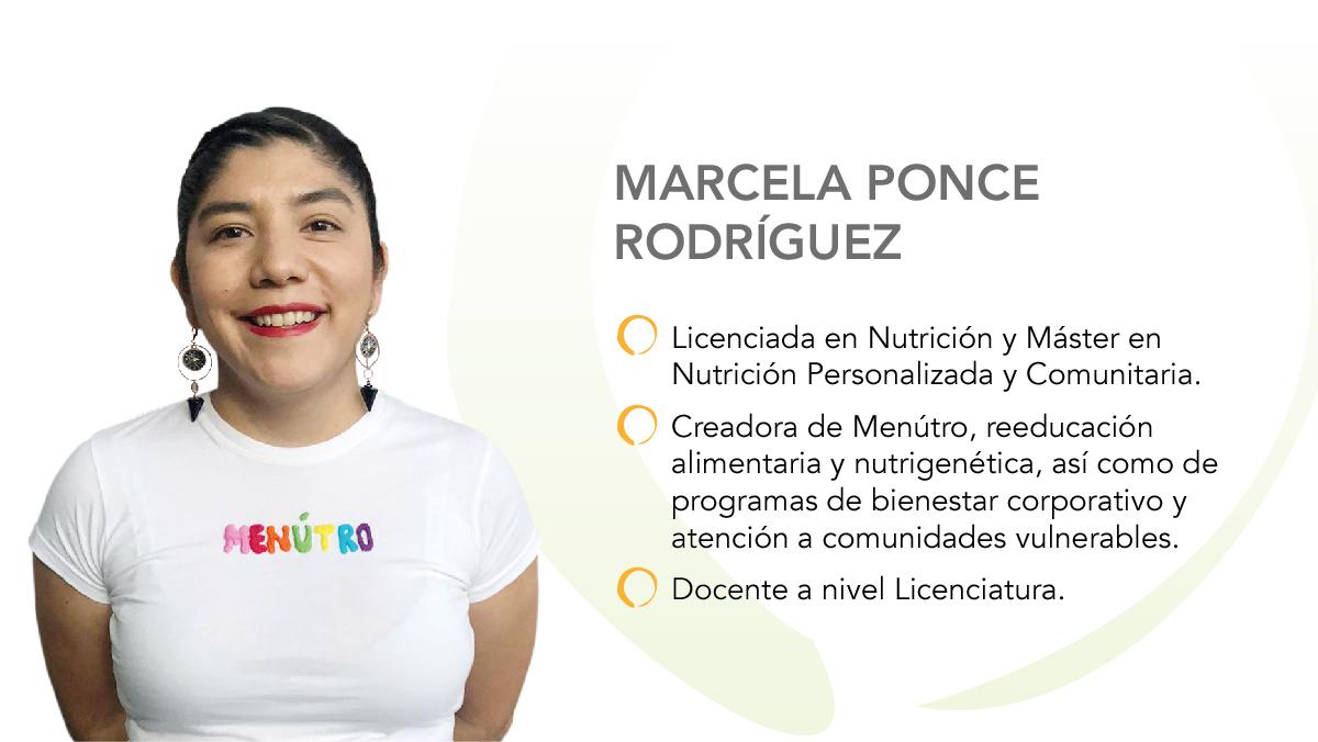 Obesidad, reto para la nutrición comunitaria: Marcela Ponce Rodríguez, Nutrióloga