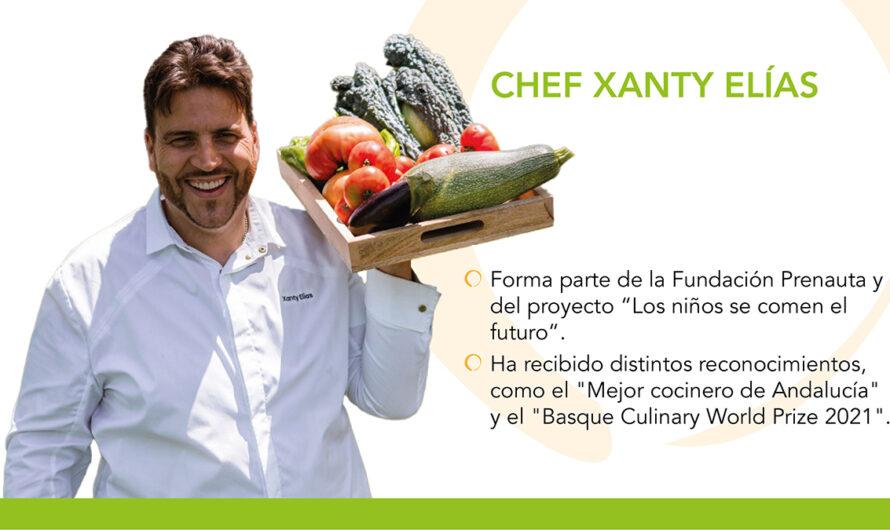 Niños y niñas, protagonistas de la revolución alimentaria: Xanty Elías, ganador del Basque Culinary World Prize 2021