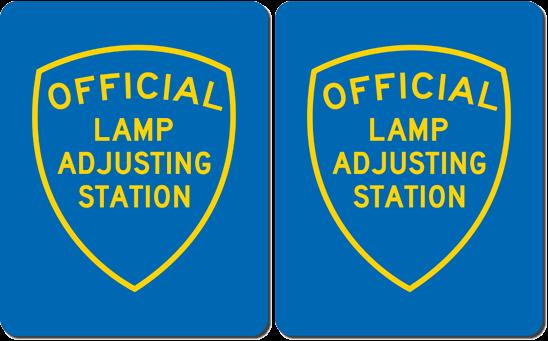 brake & Lamp Adjusting Stations