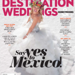 Our Floral Design is on the Cover of Destination Weddings and Honeymoons Magazine