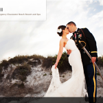 Merritt & Will's Wedding at the Hyatt Regency Clearwater Beach Resort & Spa featured in Borrowed & Blue