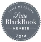 La Vie en Rose Design Invited to be Part of Style me Pretty's Little Black Book