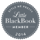La Vie en Rose Design Invited to be Part of Style me Pretty's Little Black Book