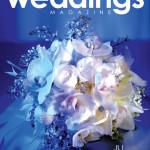 La Vie en Rose Design's Arrangement on the Cover of Tampa Bay Wedding Magazine
