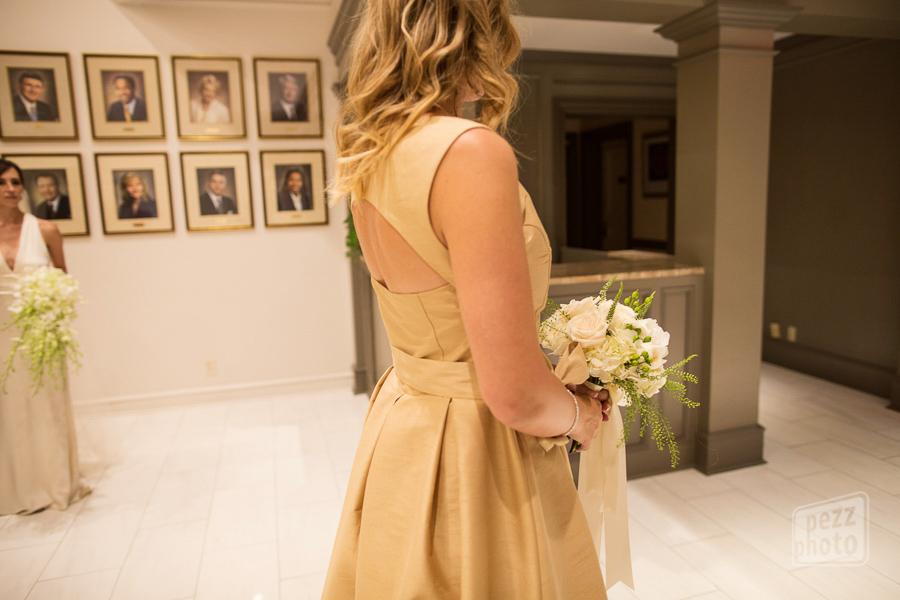 la-vie-en-rose-wedding-ceremony-roses-green-fern-beige-dress-maid-of-honor-bridesmaid-reception-the-tampa-club