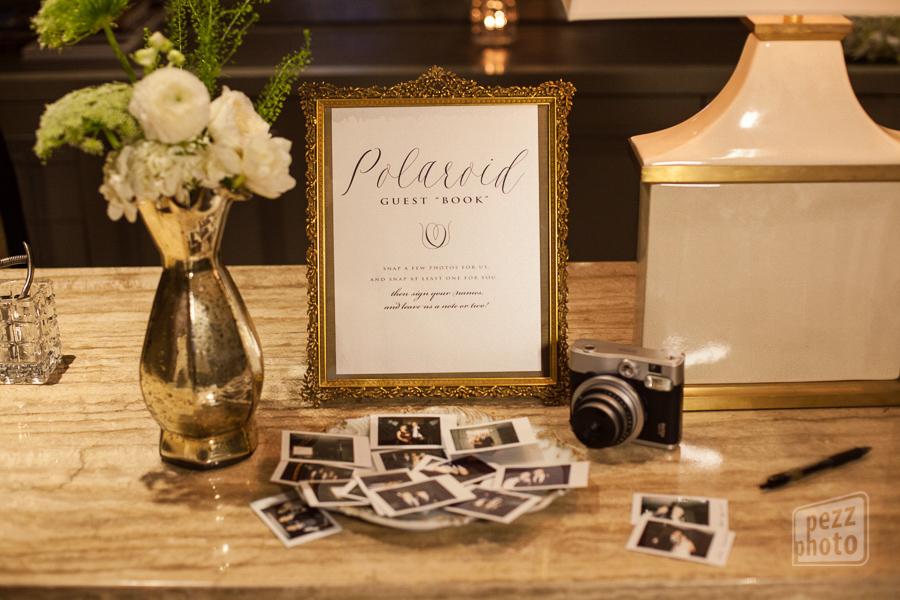 la-vie-en-rose-wedding-ceremony-reception-favors-guestbook-polaroid-pictures-small-arrangement-mercury-frame-the-tampa-club
