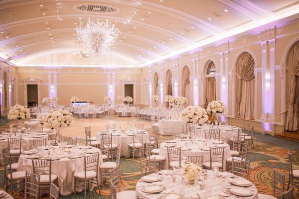 La-vie-en-rose-st-pete-florida-wedding-reception-white-blush-flower-elegant-vinoy