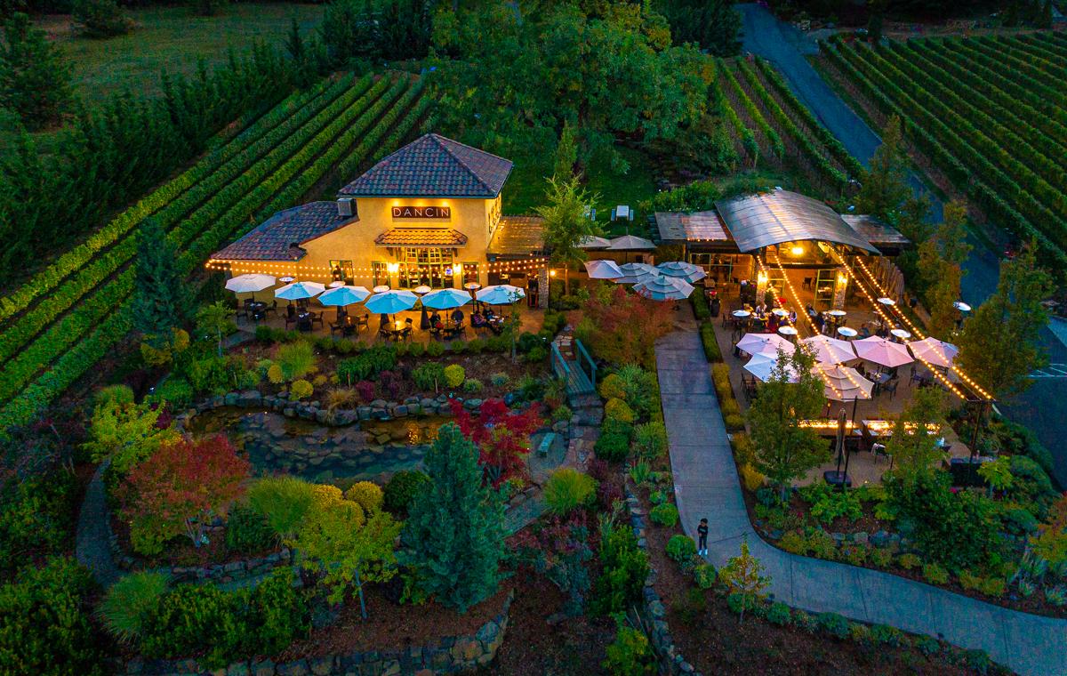 DANCIN vineyards a beautiful Southern Oregon winery
