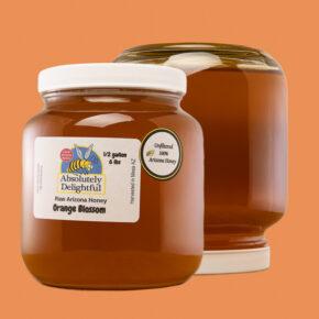 Half Gallon of Liquid Orange Blossom Honey