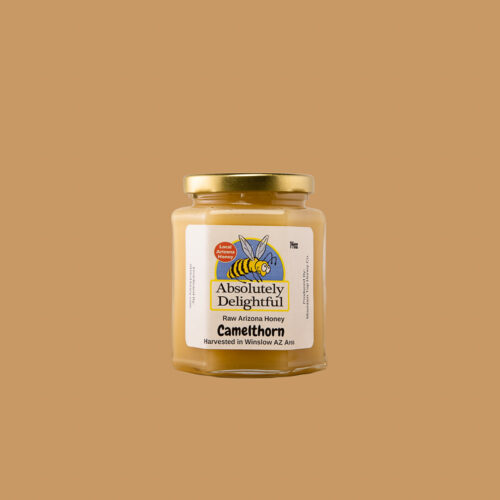 14oz jar of Camelthorn Honey