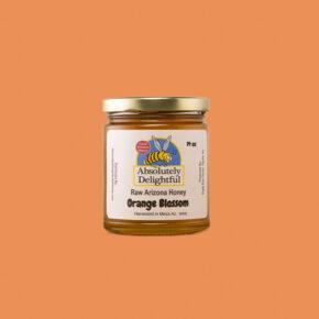 Small 14oz Jar of Orange Blossom Honey