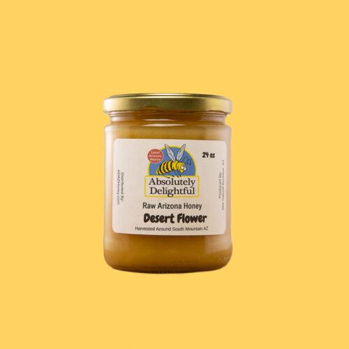 Single Desert Flower Honey in a Medium Jar