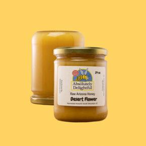 Two Floating Desert Flower Honey Jars