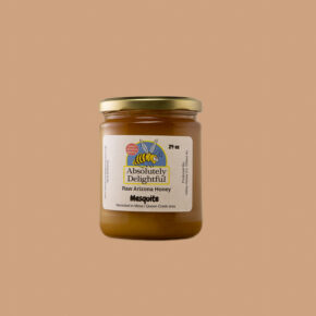 Medium Sized Jar of Crystallizing Mesquite Honey